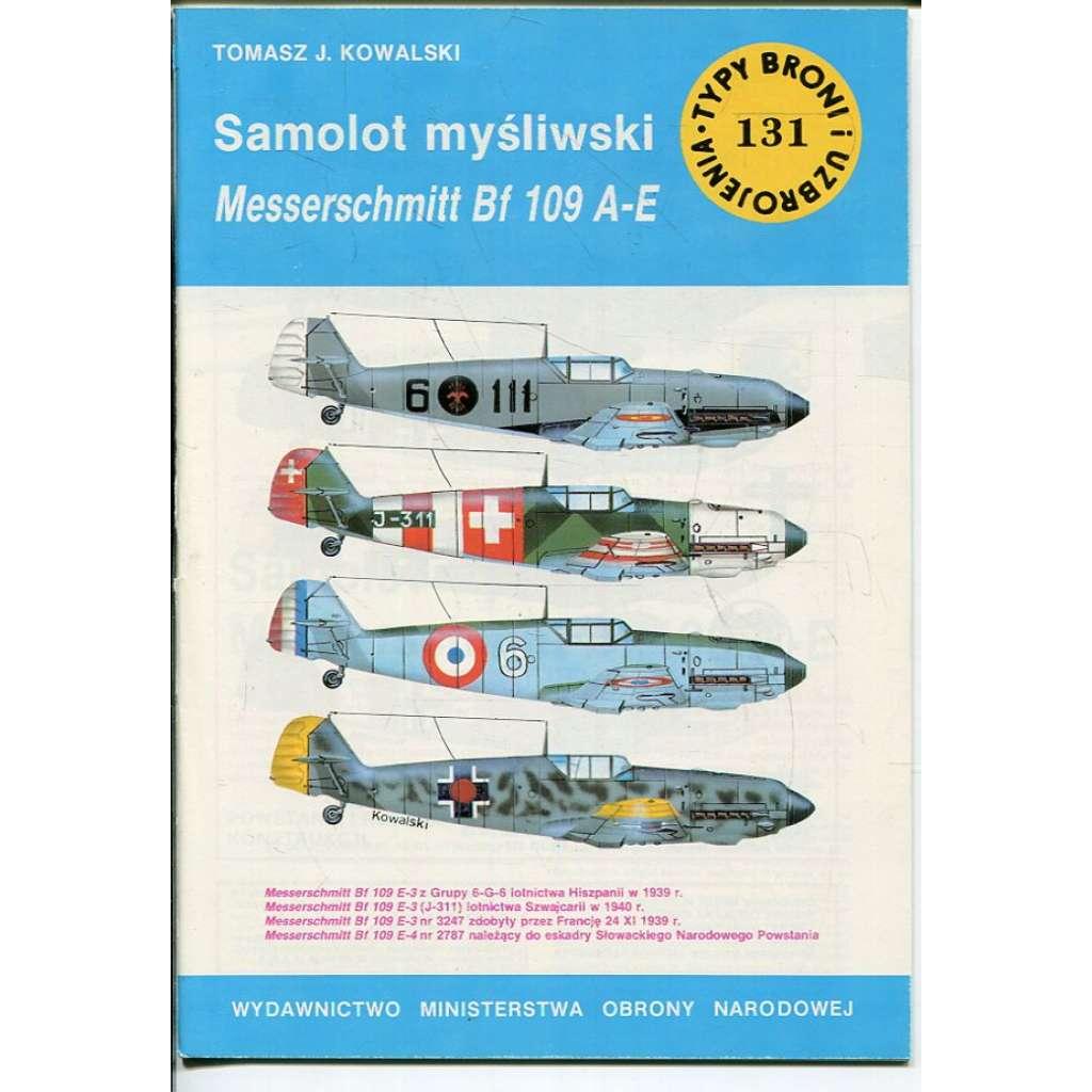 Samolot mysliwski Messerschmitt Bf 109 A-E (letadlo, letectvo)