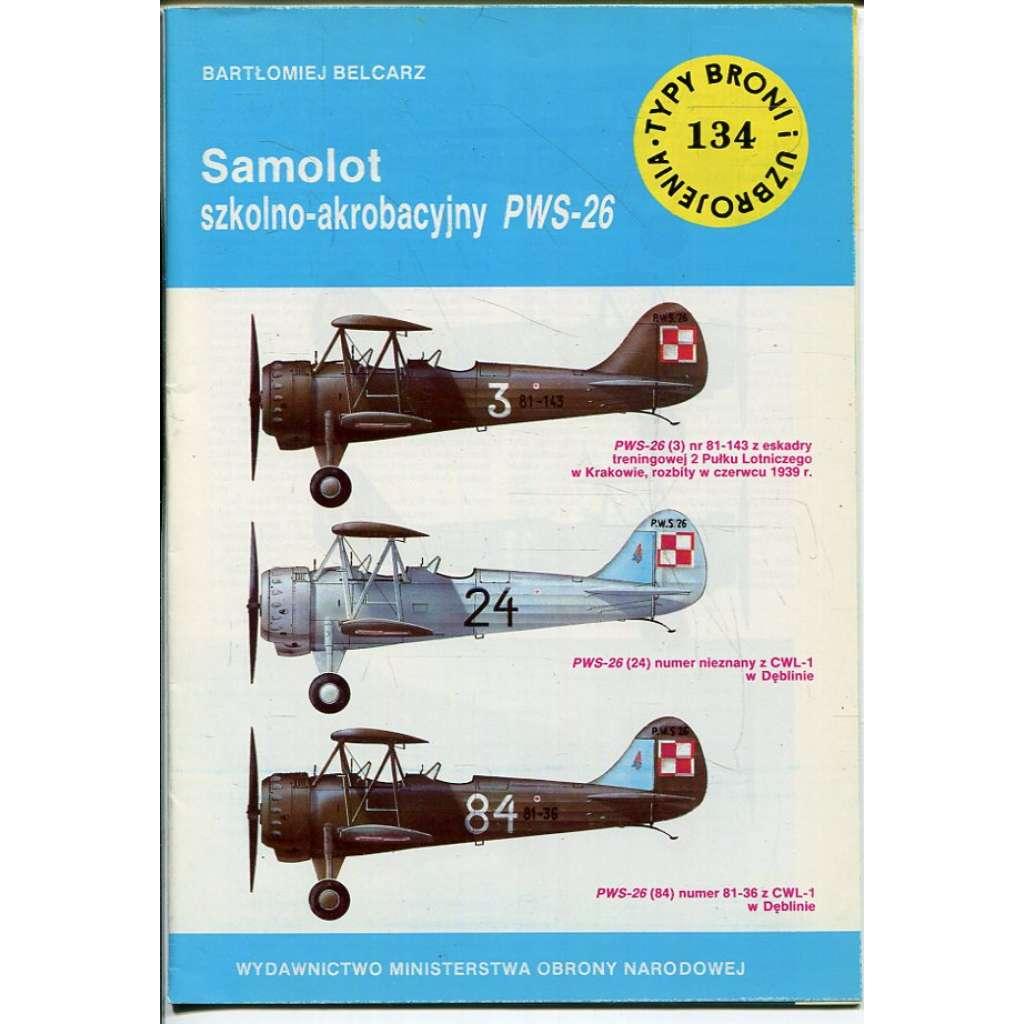 Samolot szkolno-akrobacyjny PWS-26 (letadlo, letectvo)