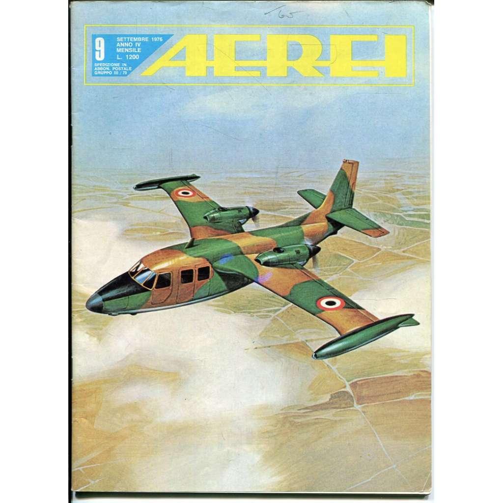 Aerei 9/1976 (letectví, letadla)