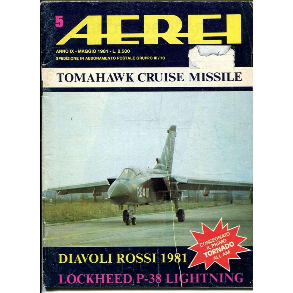 Aerei 5/1981 (letectví, letadla)