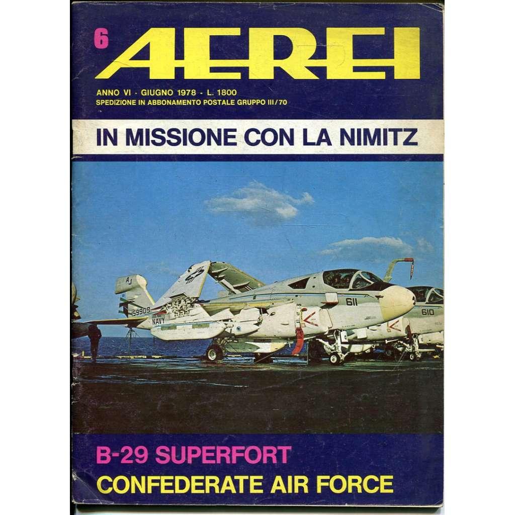 Aerei 6/1978 (letectví, letadla)
