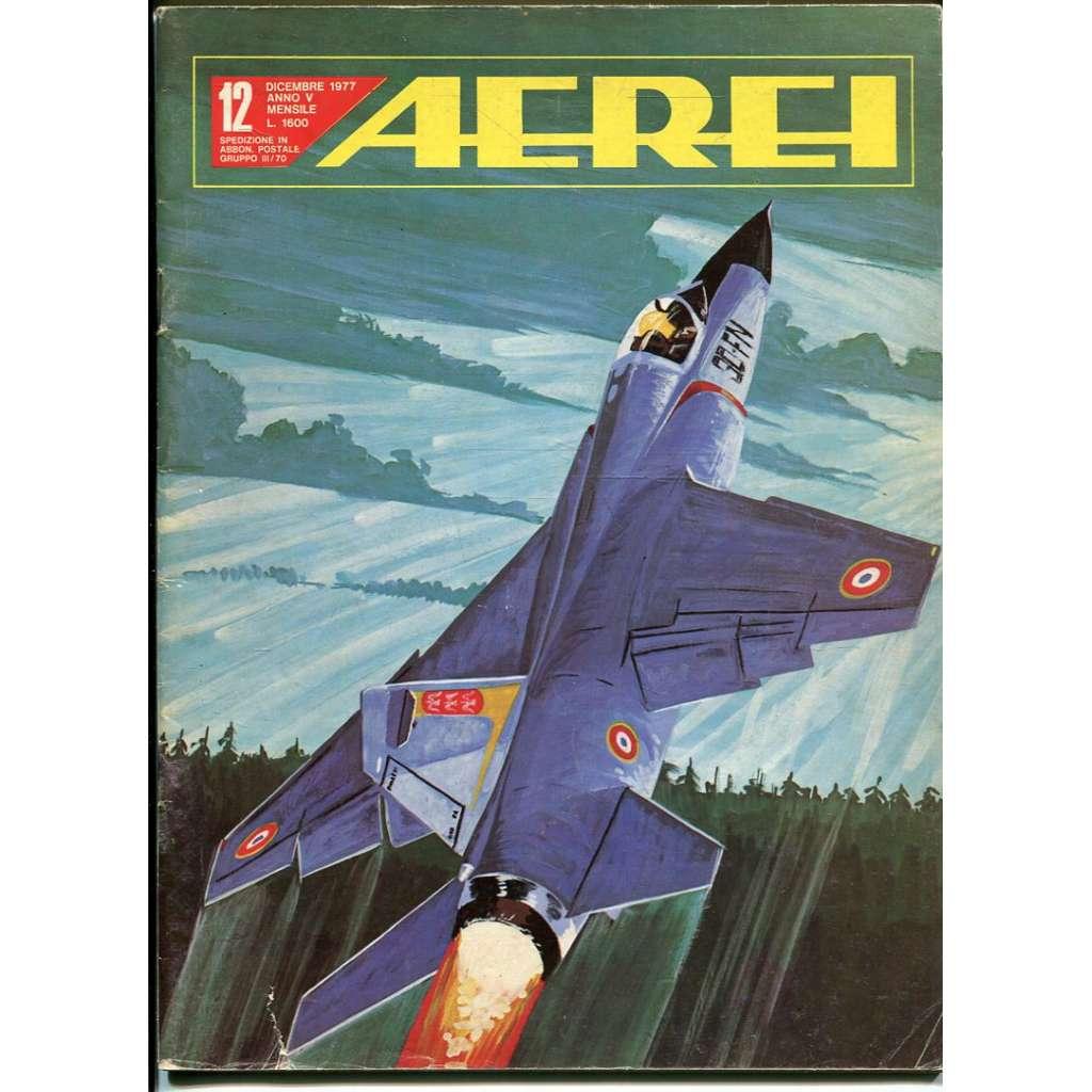 Aerei 12/1977 (letectví, letadla)