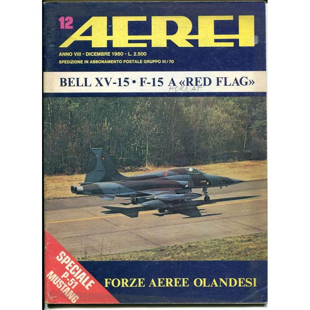 Aerei 12/1980 (letectví, letadla)