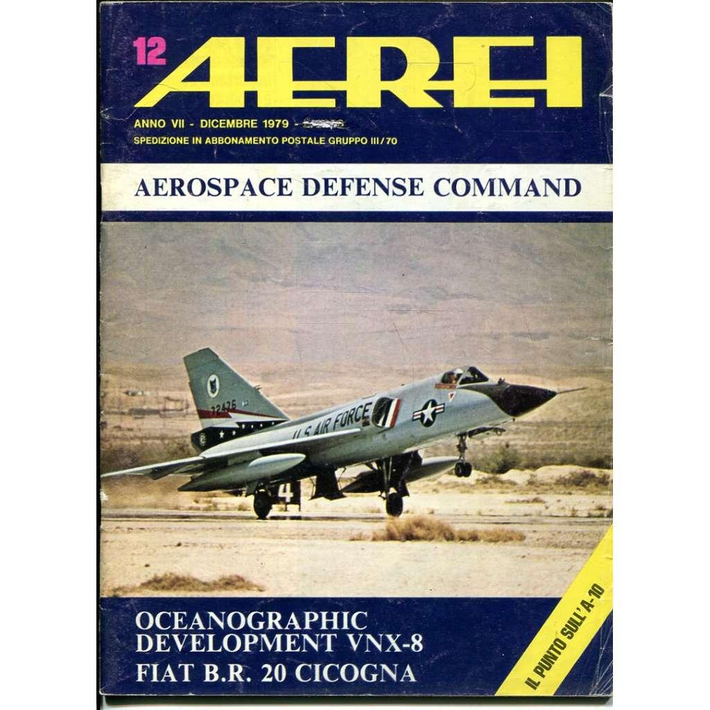 Aerei 12/1979 (letectví, letadla)