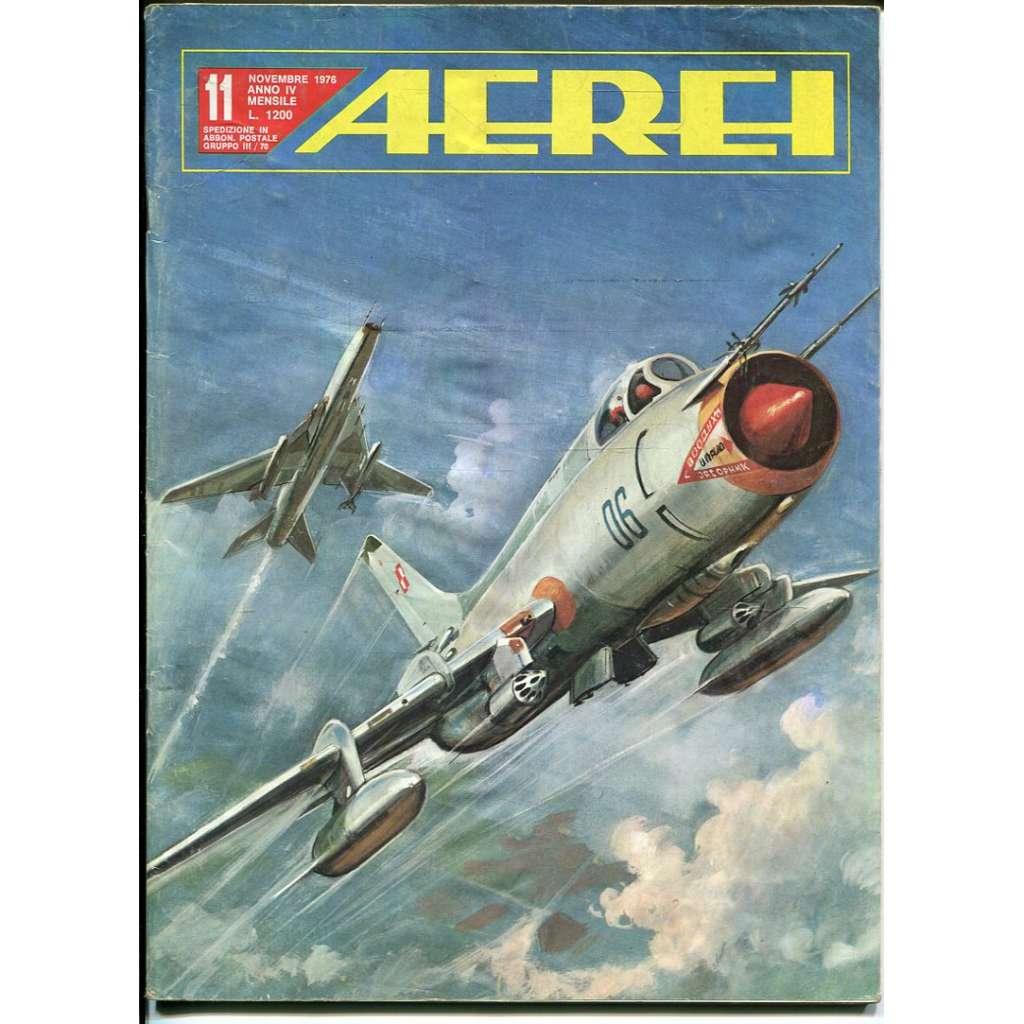 Aerei 11/1976 (letectví, letadla)