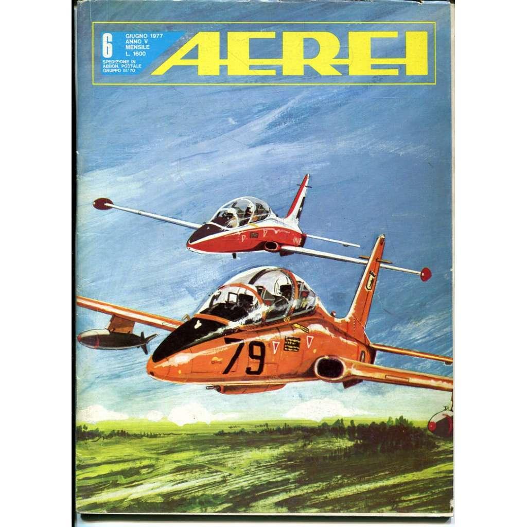 Aerei 6/1977 (letectví, letadla)