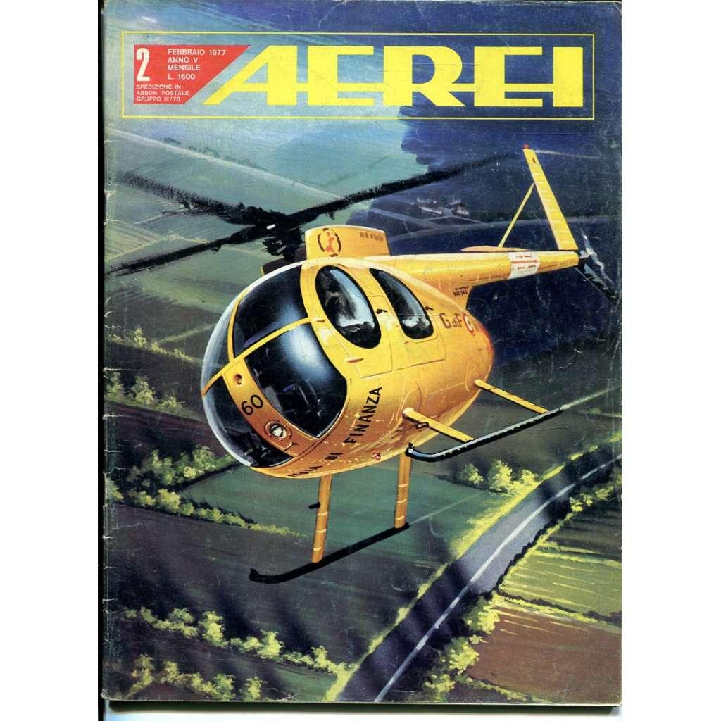 Aerei 2/1977 (letectví, letadla)