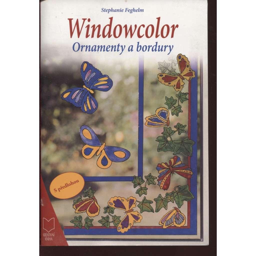 Windowcolor. Ornamenty a bordury