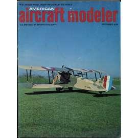 American Aircraft Modeler 9/1974, Vol. 78, No. 9 (letadla, modelářství)