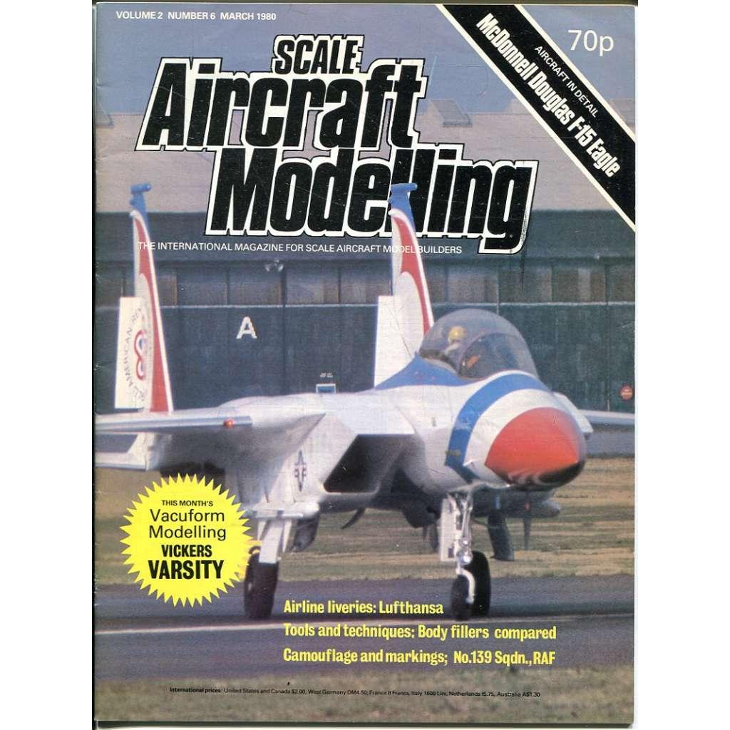 Scale Aircraft Modelling 3/1980, Vol. 2, No. 6 (letadla, modelářství)