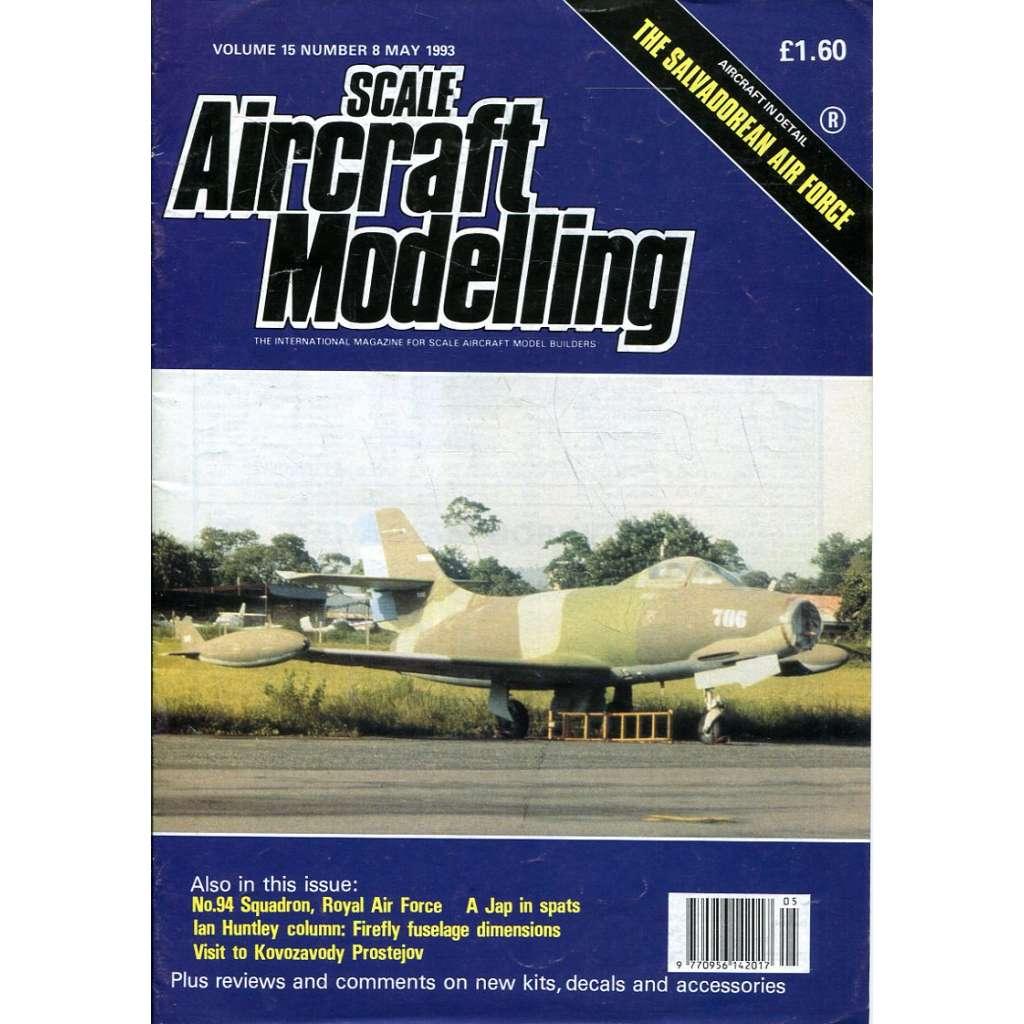 Scale Aircraft Modelling 5/1993, Vol. 15, No. 8 (letadla, modelářství)