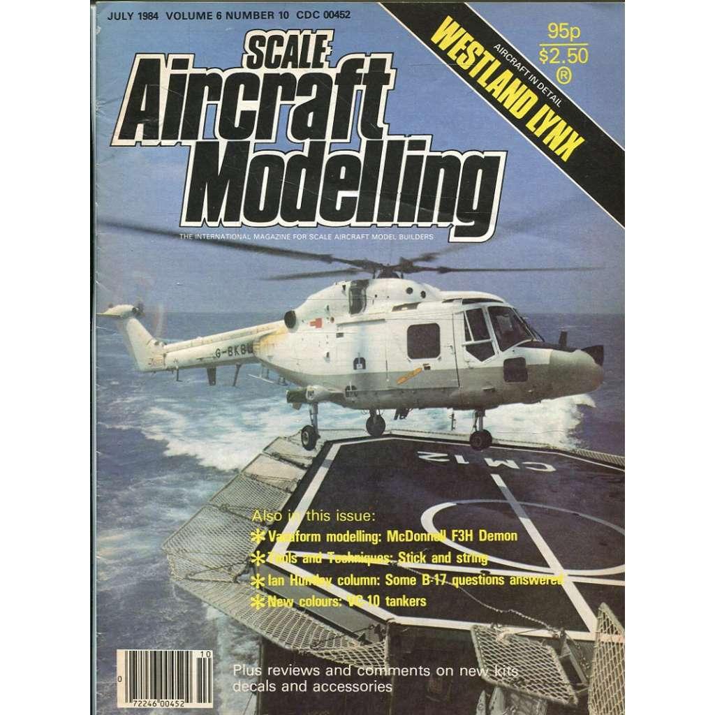 Scale Aircraft Modelling 7/1984, Vol. 6, No. 10 (letadla, modelářství)