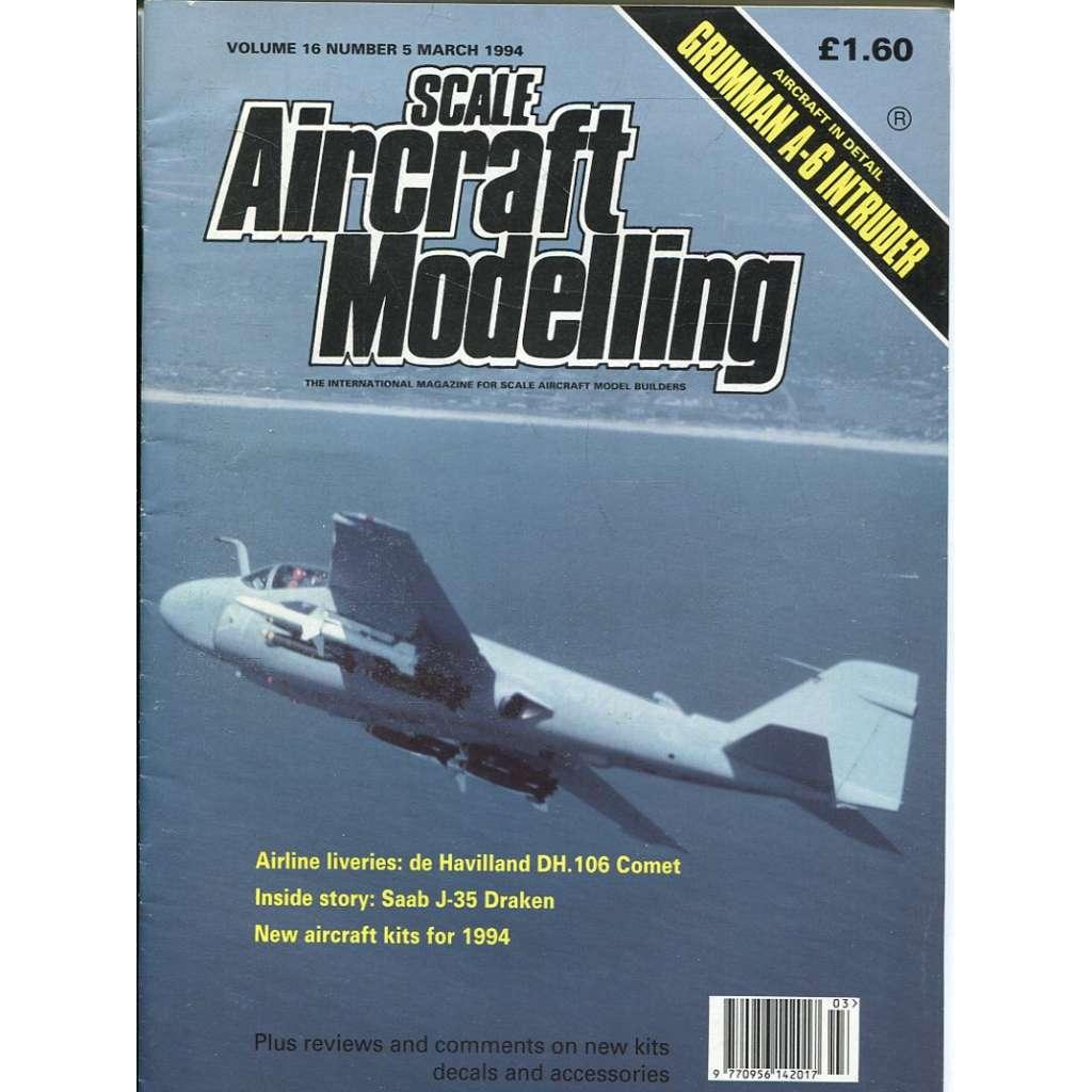 Scale Aircraft Modelling 3/1994, Vol. 16, No. 5 (letadla, modelářství)