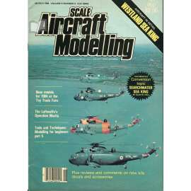 Scale Aircraft Modelling 3/1984, Vol. 6, No. 6 (letadla, modelářství)