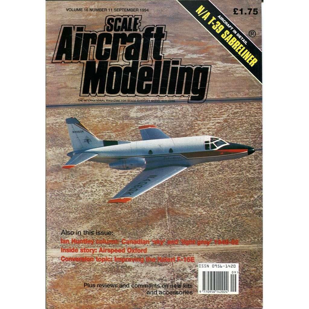 Scale Aircraft Modelling 9/1994, Vol. 16, No. 11 (letadla, modelářství)