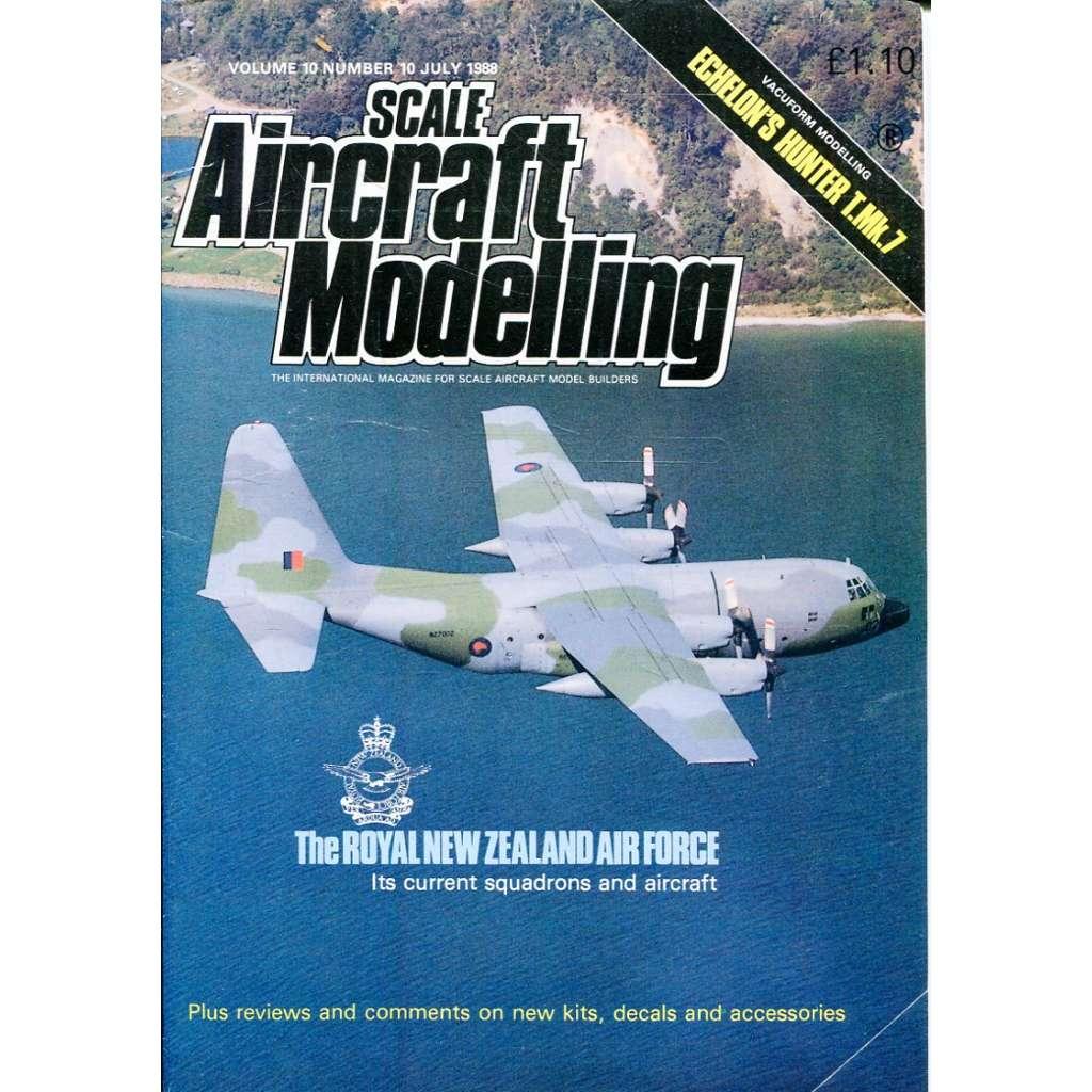 Scale Aircraft Modelling 7/1988, Vol. 10, No. 10 (letadla, modelářství)