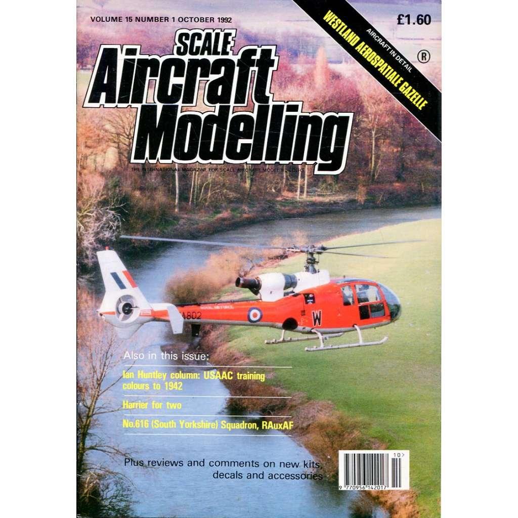 Scale Aircraft Modelling 10/1992, Vol. 15, No. 1 (letadla, modelářství)