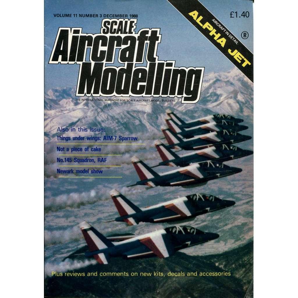 Scale Aircraft Modelling 12/1988, Vol. 11, No. 3 (letadla, modelářství)