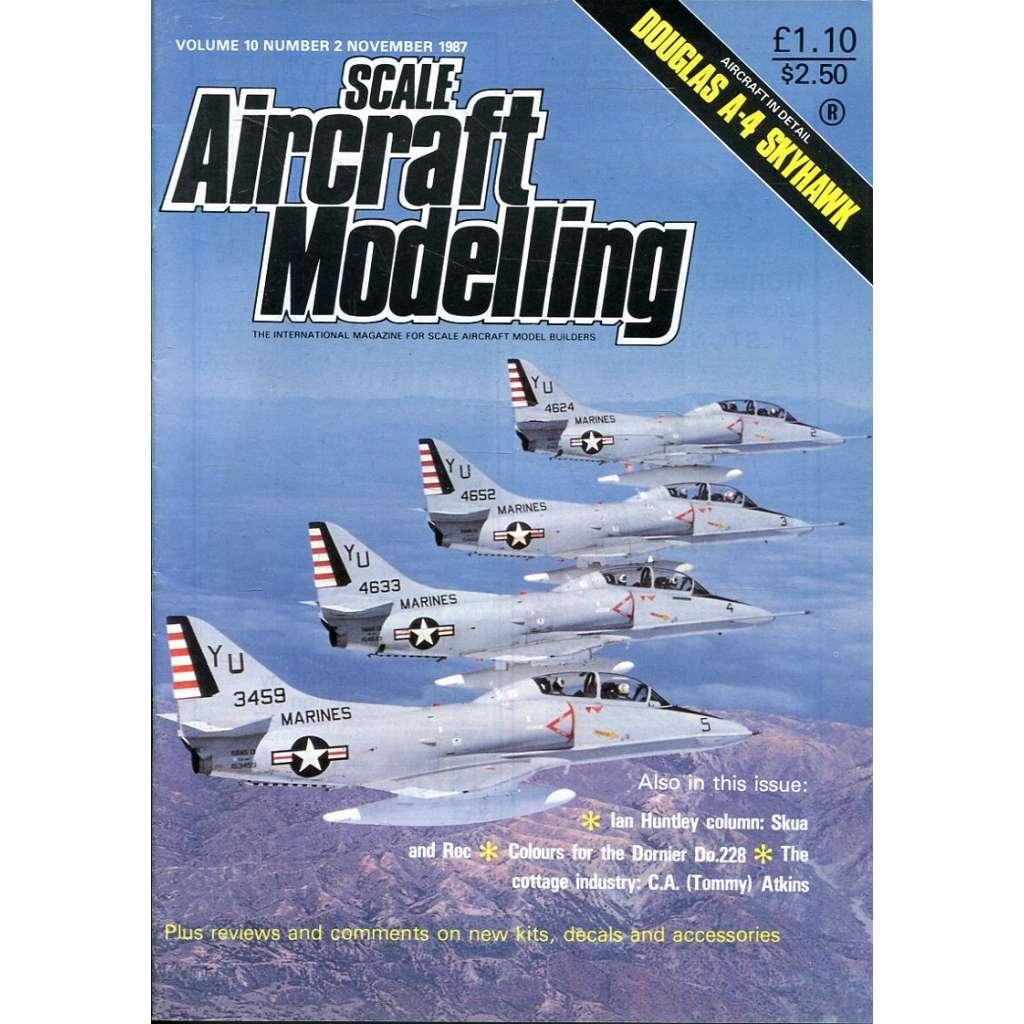 Scale Aircraft Modelling 11/1987, Vol. 10, No. 2 (letadla, modelářství)