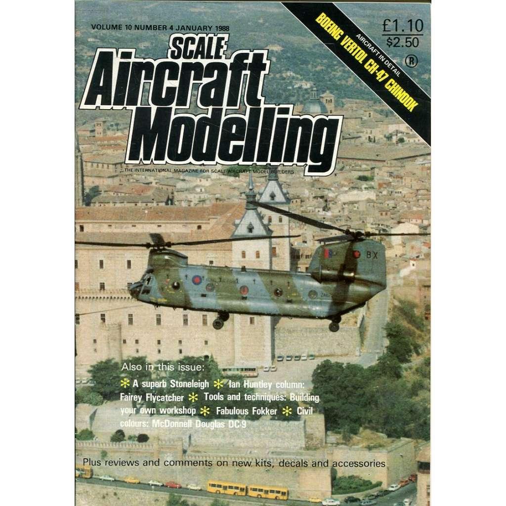 Scale Aircraft Modelling 1/1988, Vol. 10, No. 4 (letadla, modelářství)