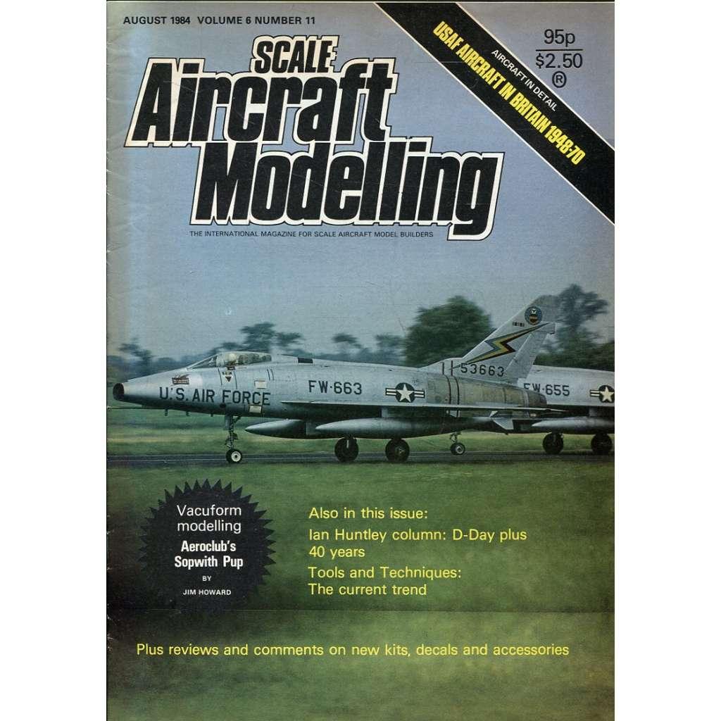 Scale Aircraft Modelling 8/1984, Vol. 6, No. 11 (letadla, modelářství)