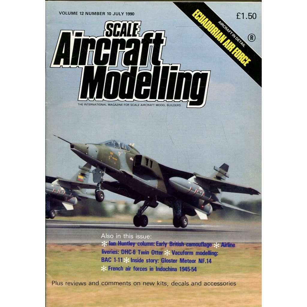 Scale Aircraft Modelling 7/1990, Vol. 12, No. 10 (letadla, modelářství)