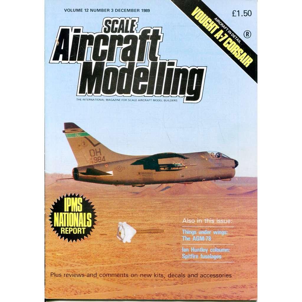 Scale Aircraft Modelling 12/1989, Vol. 12, No. 3 (letadla, modelářství)