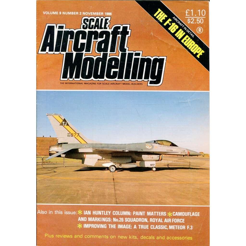 Scale Aircraft Modelling 11/1986, Vol. 9, No. 2 (letadla, modelářství)