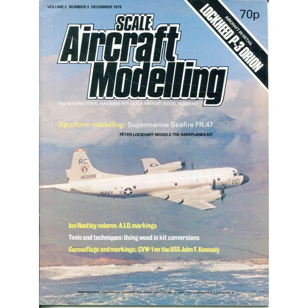 Scale Aircraft Modelling 12/1979, Vol. 2, No. 3 (letadla, modelářství)