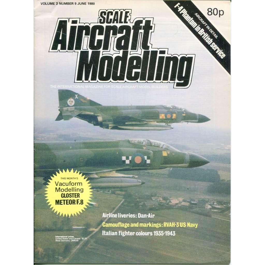 Scale Aircraft Modelling 6/1980, Vol. 2, No. 9 (letadla, modelářství)
