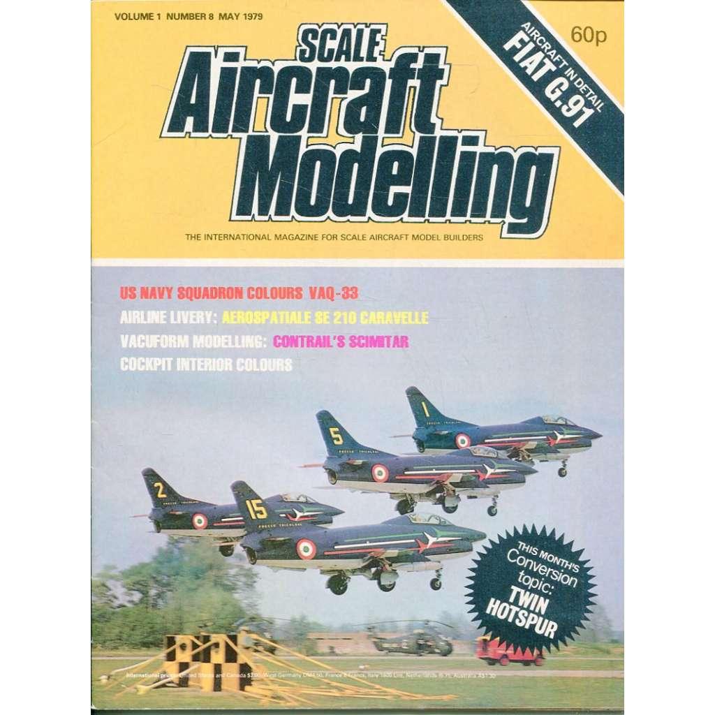 Scale Aircraft Modelling 5/1979, Vol. 1, No. 8 (letadla, modelářství)