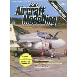Scale Aircraft Modelling 8/1980, Vol. 2, No. 11 (letadla, modelářství)