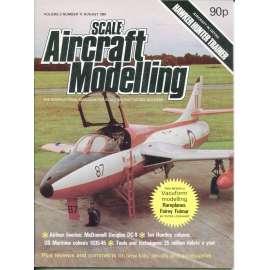 Scale Aircraft Modelling 8/1981, Vol. 3, No. 11 (letadla, modelářství)