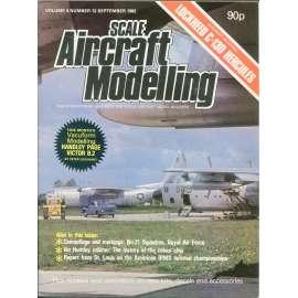 Scale Aircraft Modelling 9/1982, Vol. 4, No. 12 (letadla, modelářství)