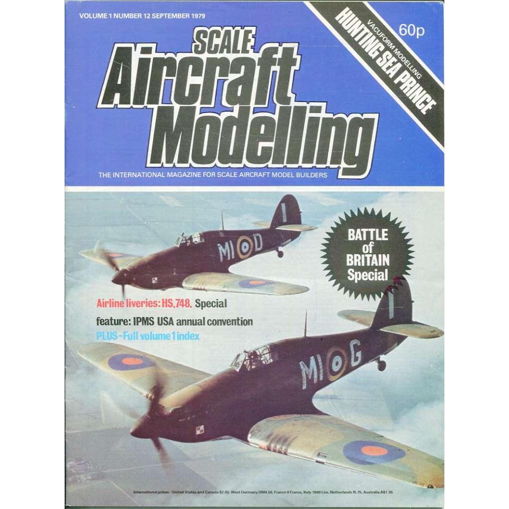 Scale Aircraft Modelling 9/1979, Vol. 1, No. 12 (letadla, modelářství)