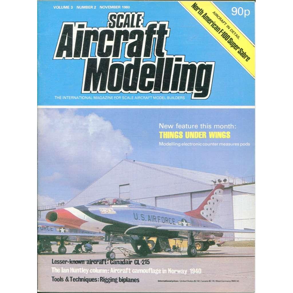 Scale Aircraft Modelling 11/1980, Vol. 3, No. 2 (letadla, modelářství)