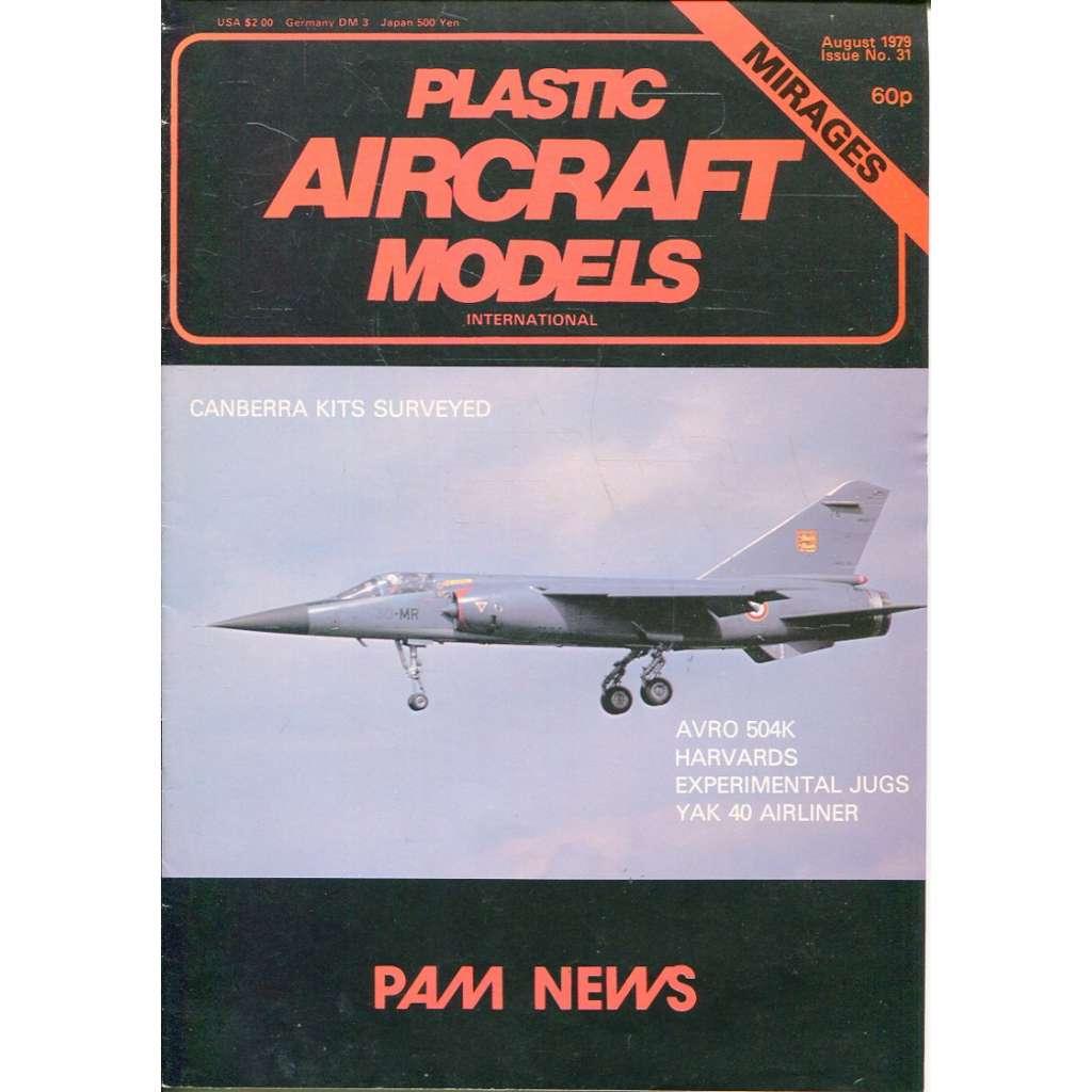 Plastic Aircraft Models No. 31, 1979 (letadla, modelářství)