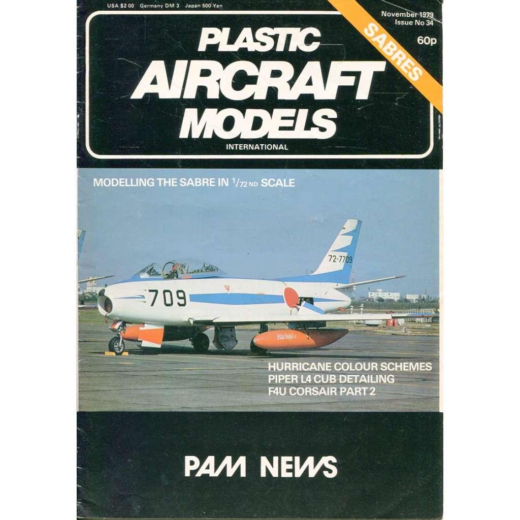 Plastic Aircraft Models No. 34, 1979 (letadla, modelářství)