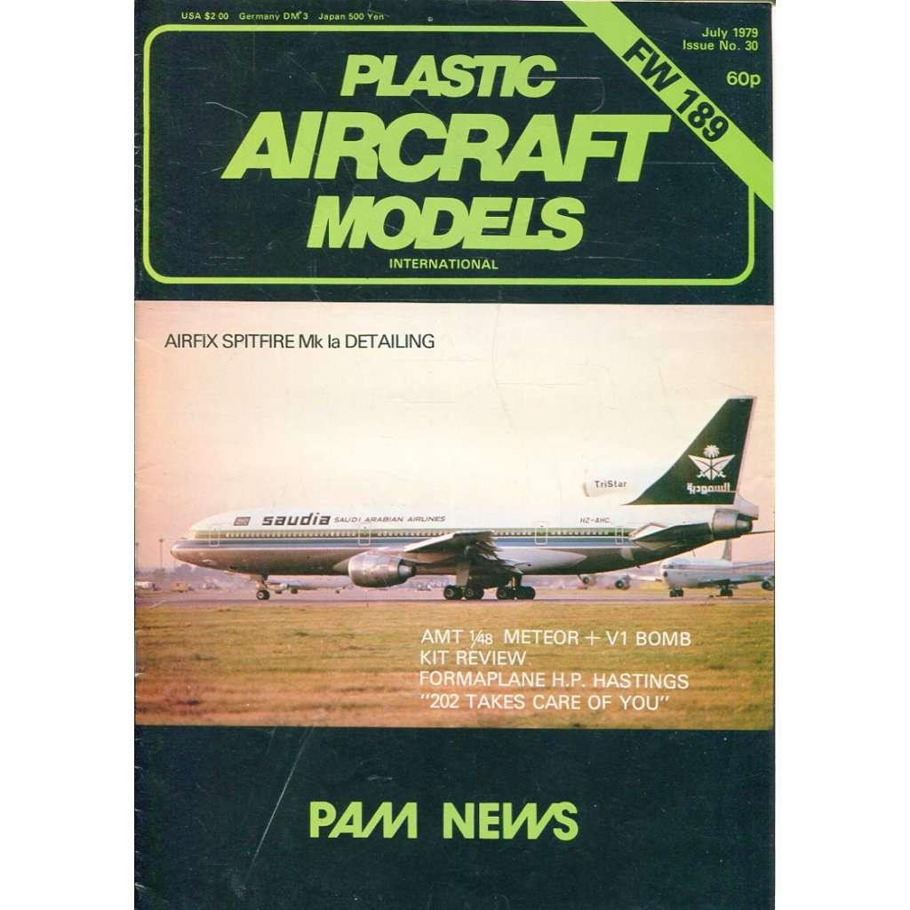 Plastic Aircraft Models No. 30, 1979 (letadla, modelářství)