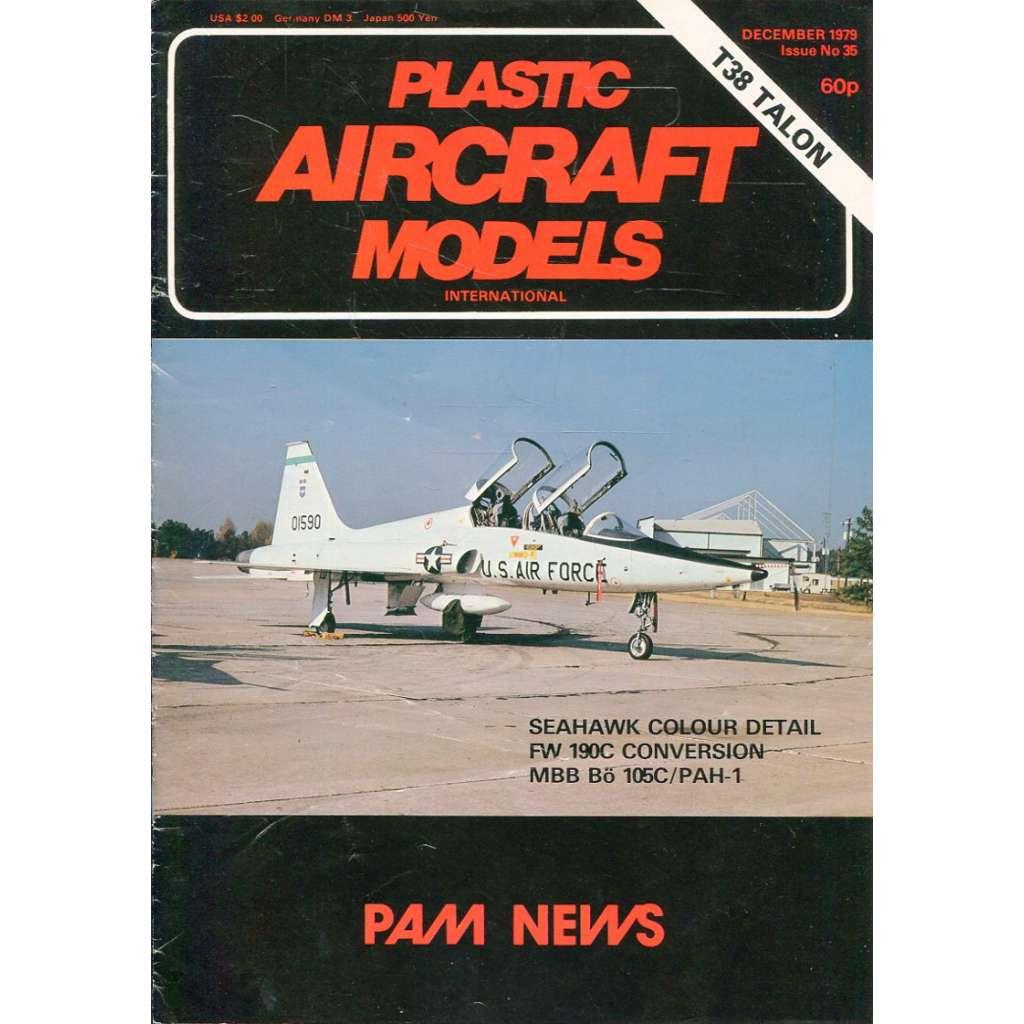 Plastic Aircraft Models No. 35, 1979 (letadla, modelářství)