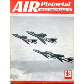 Air Pictorial 5/1955, Vol. 17, No. 5 (letadla, letectví)