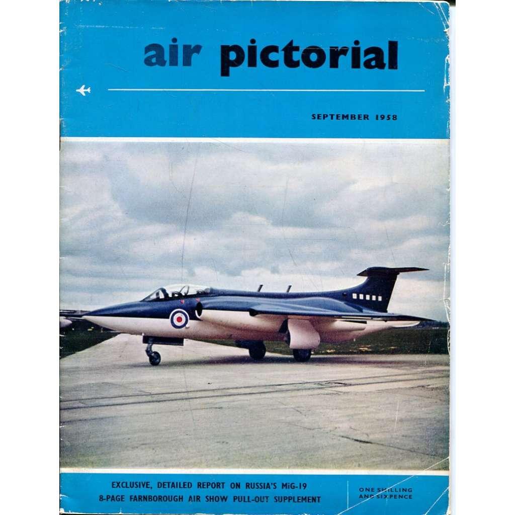Air Pictorial 9/1958, Vol. 20, No. 9 (letadla, letectví)