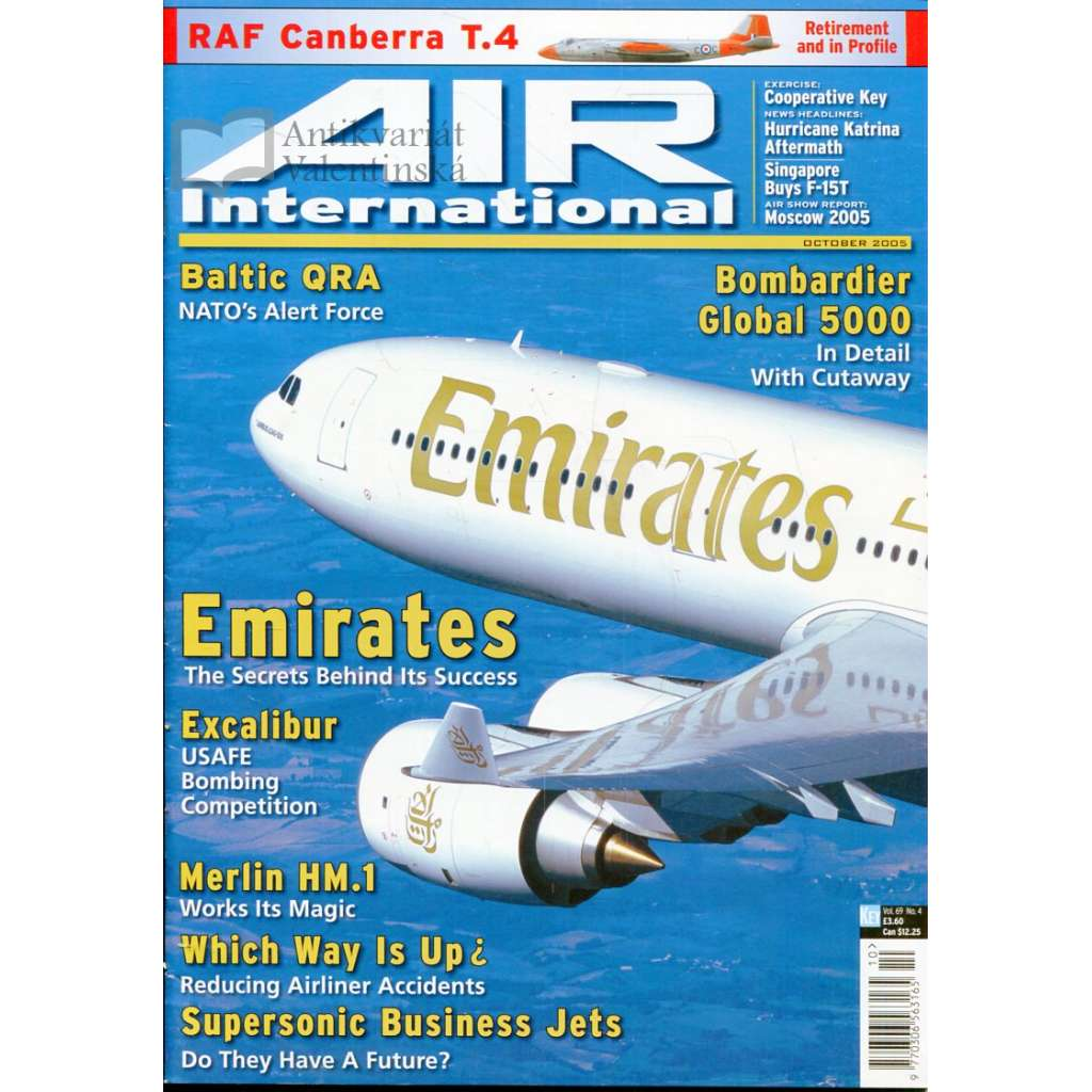 Air International 10/2005, Vol. 69, No. 4 (letectví, letadla)