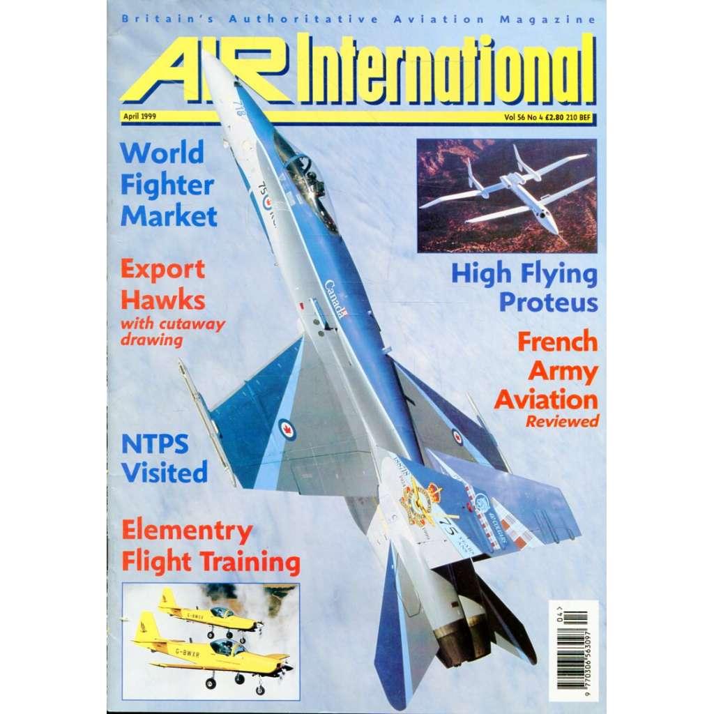 Air International 4/1999, Vol. 56, No. 4 (letectví, letadla)