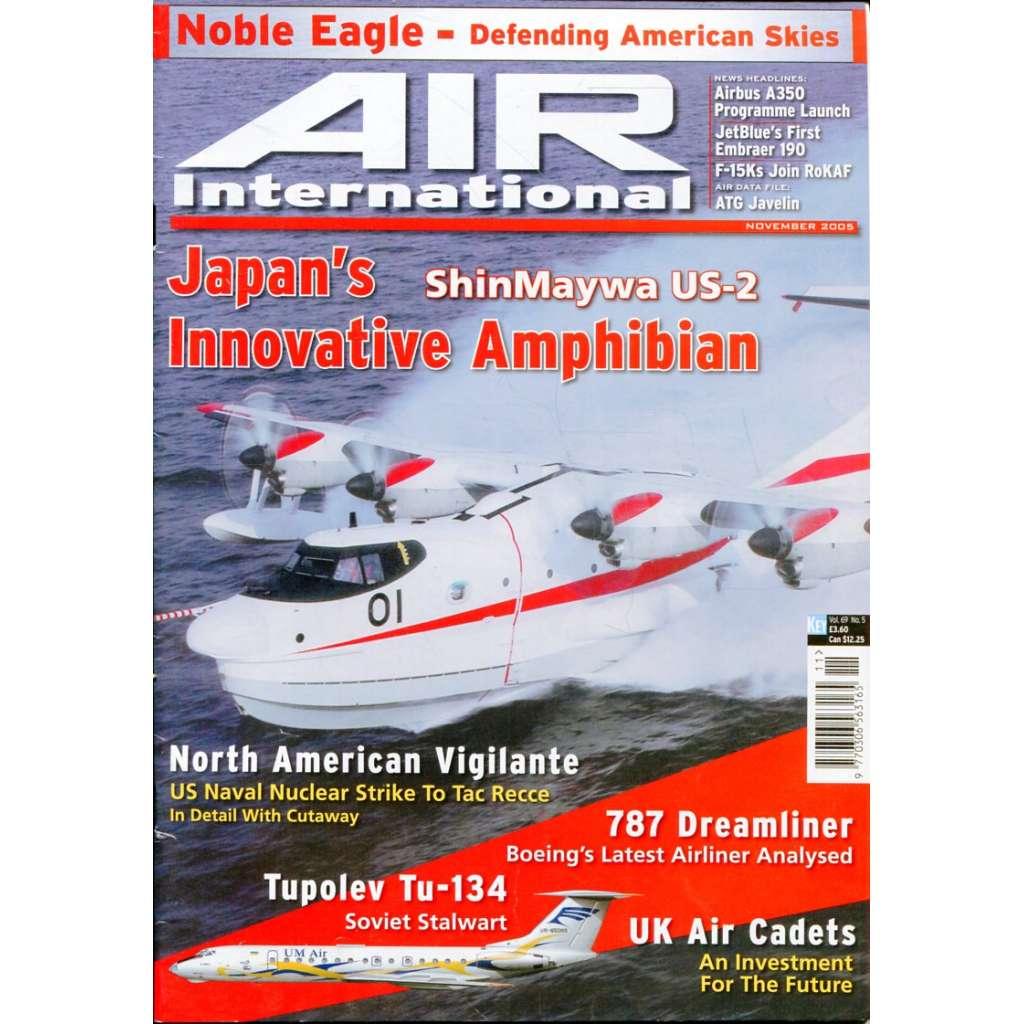 Air International 11/2005, Vol. 69, No. 5 (letectví, letadla)