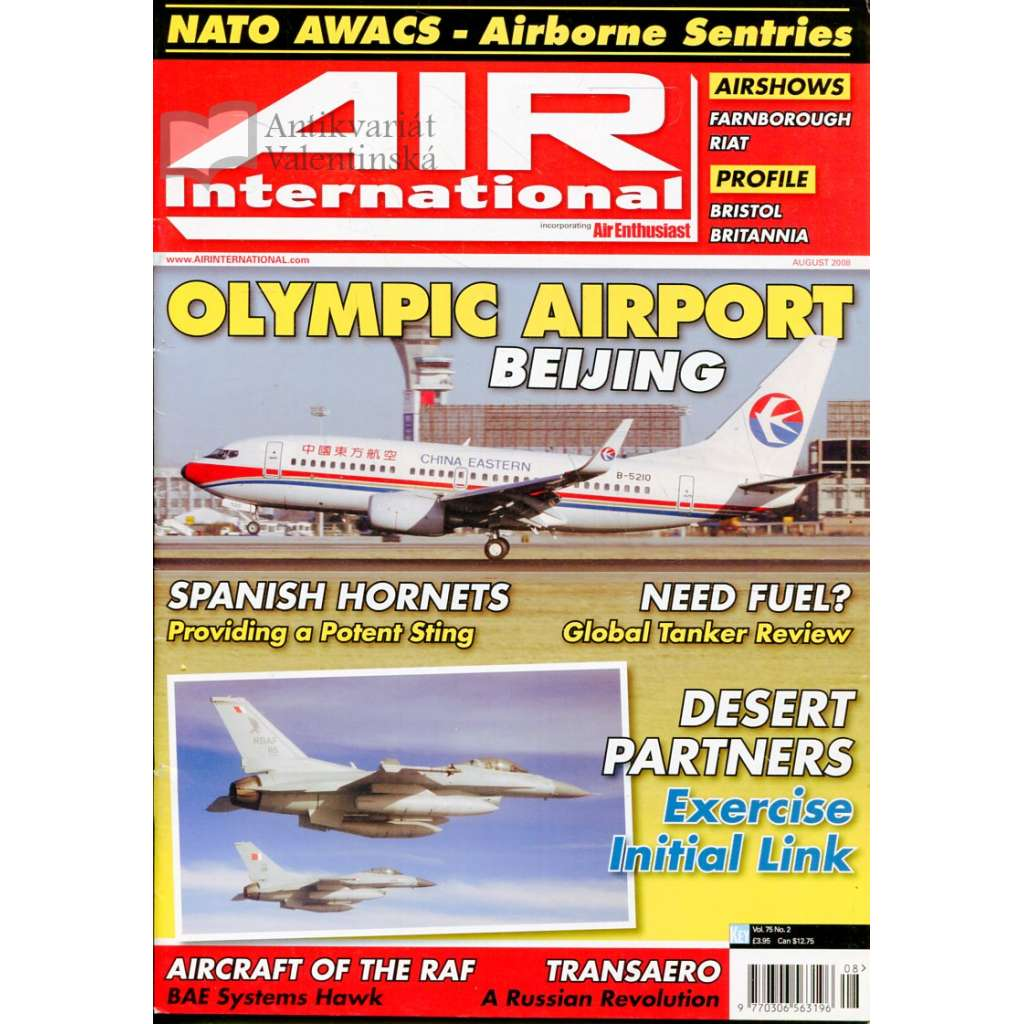 Air International 8/2008, Vol. 75, No. 2 (letectví, letadla)