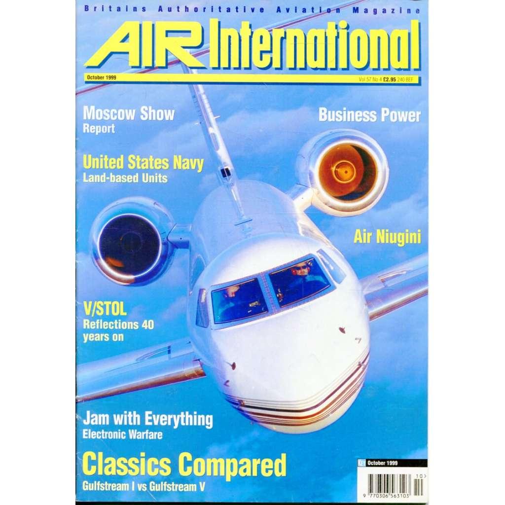 Air International 10/1999, Vol. 57, No. 4 (letectví, letadla)