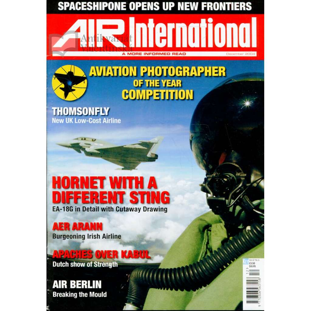 Air International 12/2004, Vol. 67, No. 6 (letectví, letadla)