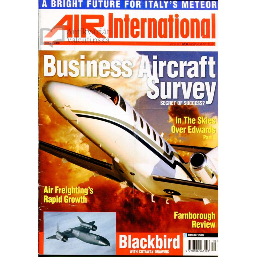 Air International 10/2000, Vol. 59, No. 4 (letectví, letadla)