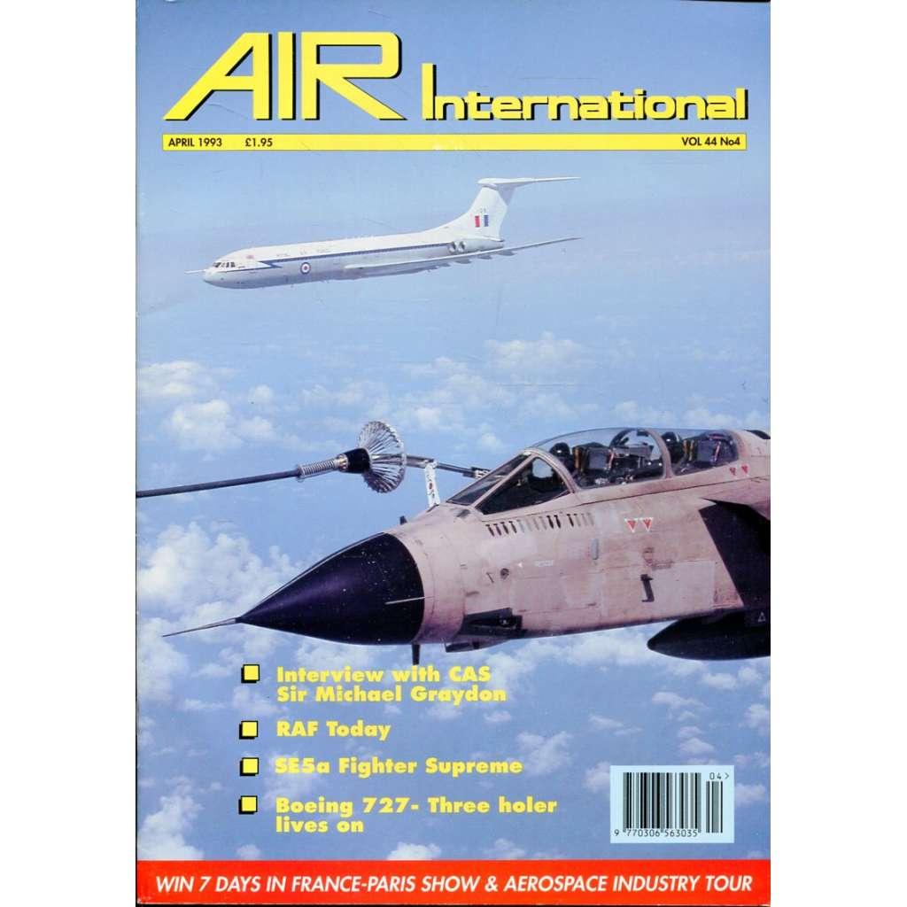 Air International 4/1993, Vol. 44, No. 4 (letectví, letadla)